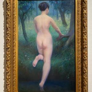 二枚の裸婦像画 ポーラ美術館 箱根 神奈川