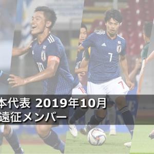 U-22日本代表 2019年10月ブラジル遠征メンバー