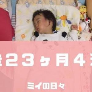 定期身体測定1歳11ヶ月(生後23ヶ月4週目)