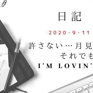 【日記】2020/9/11 許さない…月見パイ…。それでもI'm lovin' it!