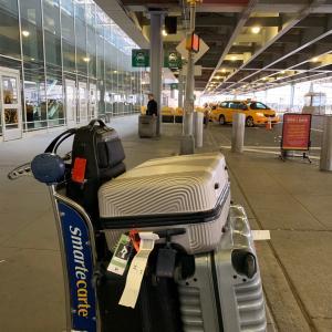ニューヨーク に到着。