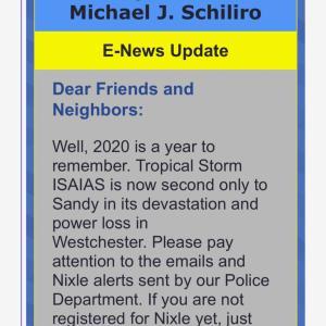 ニューヨーク郊外は最低1週間は停電! ハリケーンサンデイ類似のダメージ。