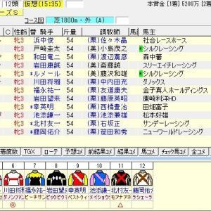第37回関西テレビ放送賞ローズステークス(G2)2019 出走馬名表