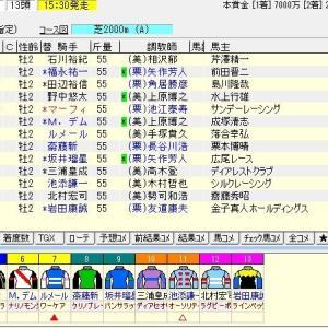 第36回ホープフルステークス(G1) 2019 枠順