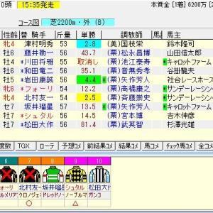 第113回農林水産省賞典京都記念(G2) 2020 予想