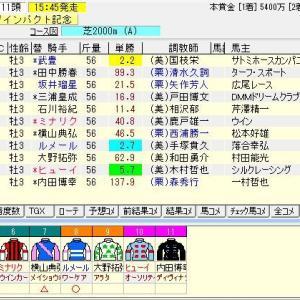第57回報知杯弥生賞ディープインパクト記念(G2) 2020 予想