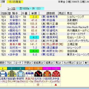 第51回読売マイラーズカップ(G2) 2020 予想