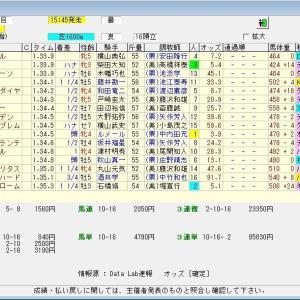 第65回京成杯オータムハンデキャップ(G3) 2020 結果