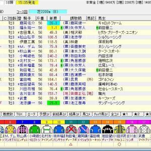 第68回神戸新聞杯(G2) 2020 予想