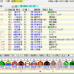 第15回阪神カップ(G2) 2020 出走馬名表