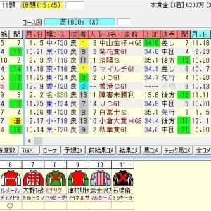 第93回中山記念(G2) 2019 出走馬名表