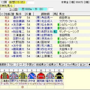 第64回サンケイスポーツ杯阪神牝馬ステークス(G2) 2021 出走馬名表