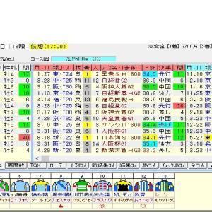 第133回農林水産省賞典目黒記念(G2) 2019 出走馬名表