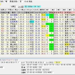 第55回農林水産省賞典新潟記念(G3)2019 結果