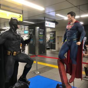 バットマンvsスーパーマン@秋葉原駅