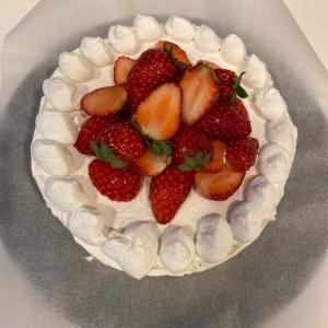 ギルトフリーなお誕生日ケーキ♪