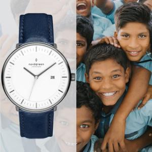 注目 期間限定 ブラックフライデー 時計を買うだけで社会貢献できるノートグリーンの口コミ検証
