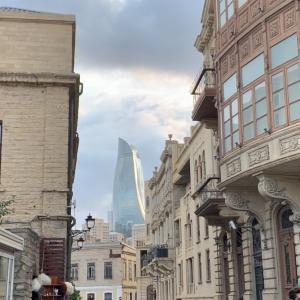 アゼルバイジャン・バクー観光!素敵な街