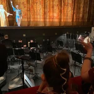 ボリショイ劇場(イヴァン雷帝)でスヴェトラーナ・ザハロワの娘様に遭遇。