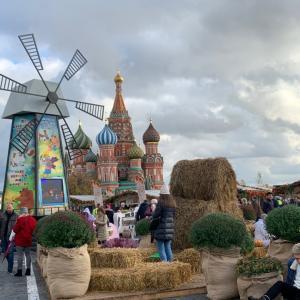 黄金の秋のフェスティバル in 赤の広場