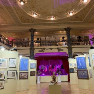 バレエの展示会