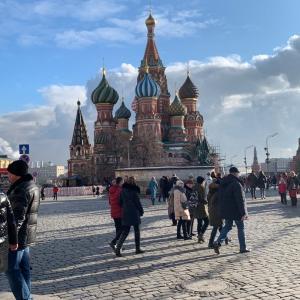 中国人観光客がいなくなったモスクワ