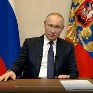 プーチン大統領のコロナウィルスに対してのスピーチ