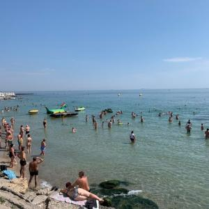【ウクライナ】オデッサのビーチ