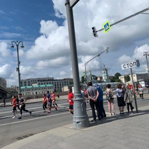 ハーフマラソン★モスクワ!