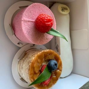 モスクワのレベル高いケーキ!