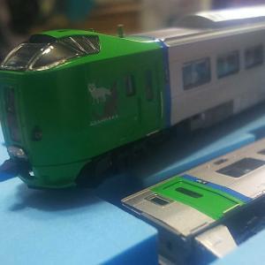 鉄道模型 マイクロエース 789系ライラックが返ってきました。