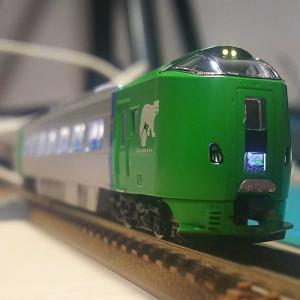 鉄道模型 マイクロエース 789系ライラックのTN化