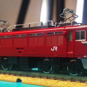 鉄道模型 TOMIX ED75 700番台サッシ窓(前期型)を後期仕様に(前編)