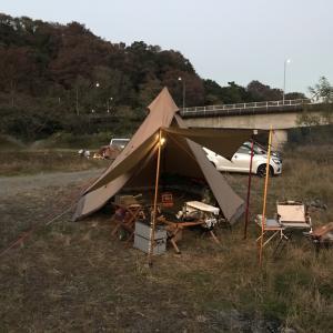 11月の連休キャンプ 後編