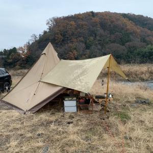 12月の連休キャンプ 後編