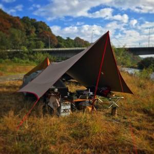角田橋でゆっくり2泊。