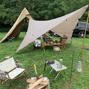 2019年初キャンプは森のまきば 前編