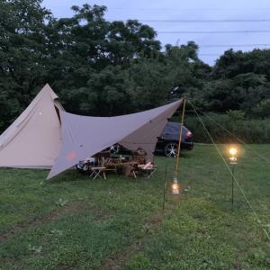 2019年 初キャンプは森のまきば 後編