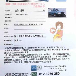 妊娠35週目@2人目の陣痛タクシー