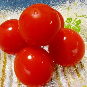 ■10分で..プチトマトのマリネ &母退院