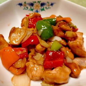 ■15分で..鶏肉とカシューナッツ炒め■10分で..ミョウガ三色マリネ &マスクケース