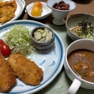 ■10分!冷めてもサクサク郷土料理■10分!鯖缶カレー &紫陽花