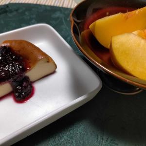 ■チーズケーキ■里芋から揚げ &うわっ、悪夢