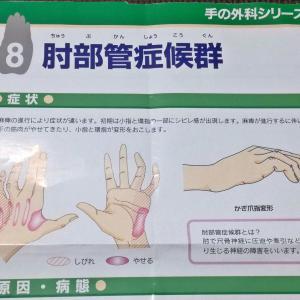 小指と薬指の痺れで、整形外科を受診「肘部管症候群」の診断について。