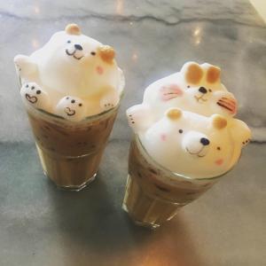 インスタ映え間違いなし!くまラテアートが可愛すぎるカフェ「B-story Cafe」