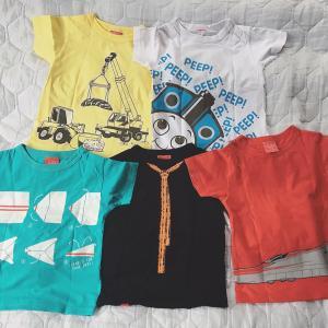 メルカリで買うとお得!遊び心あふれる子どもTシャツ♡