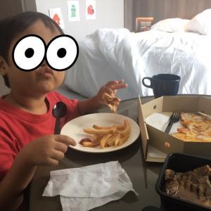 ホテル隔離生活1週間経過!4歳児との過ごし方。