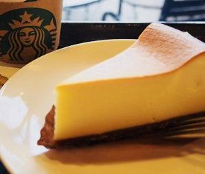 NYチーズケーキ/スターバックス