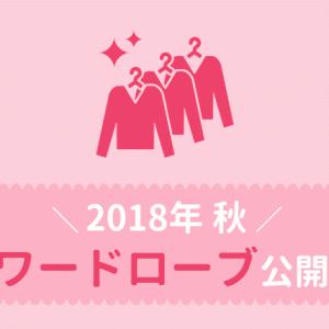 【ミニマリスト】アラサーの2018年秋ワードローブ6アイテム公開!