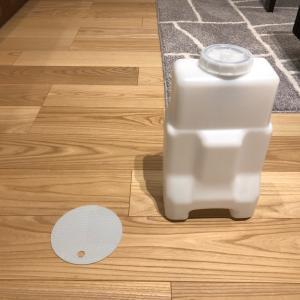 IKEAのキャップオープナーvs加湿器給水タンクの蓋